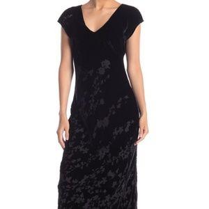 Johnny Was Fedora Velvet Maxi Dress Size XS